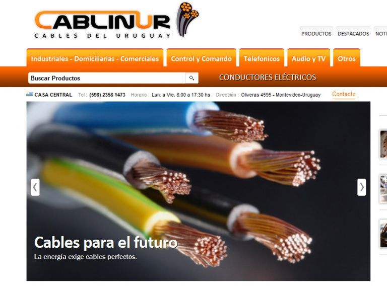 Cables y Conductores Eléctricos. - Cablinur