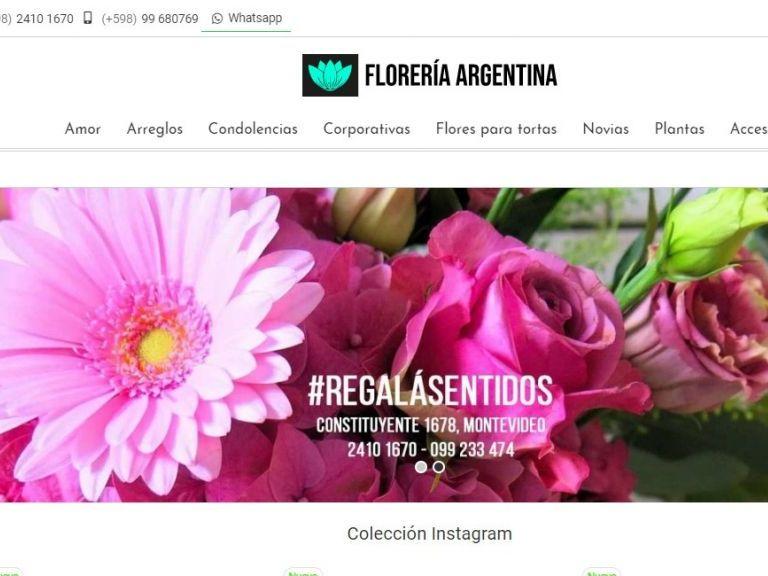 Florería argentina. - Florería Argentina