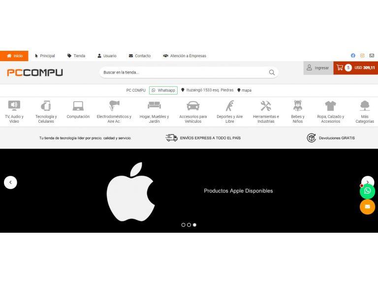Todo en hardware, accesorios y partes para computadoras pc y notebooks. - PC Compu